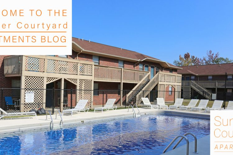 Welcome to the Summer Courtyard Apartments Blog