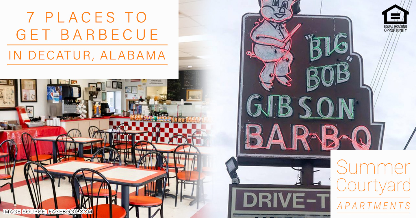 places to get barbecue in Decatur, AL
