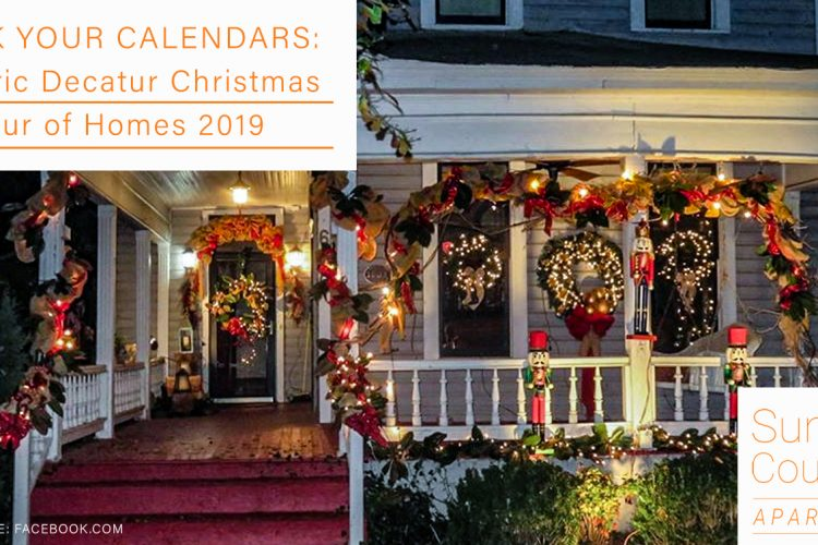 Mark Your Calendars: Historic Decatur Christmas Tour of Homes 2019