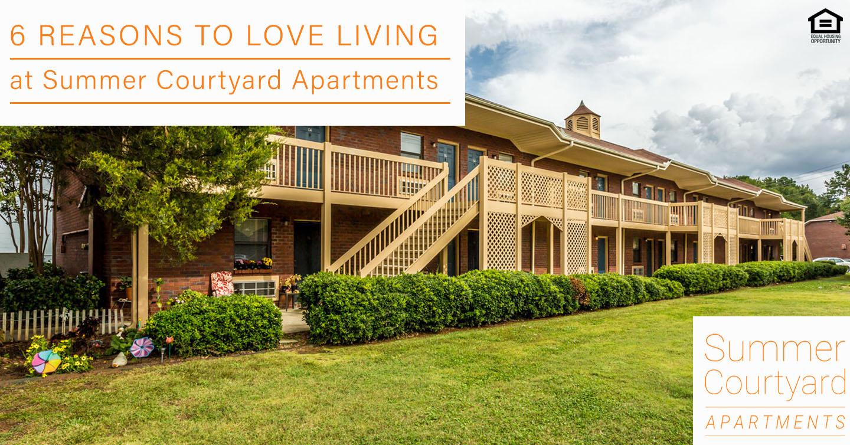 6 Reasons to Love Living at Summer Courtyard Apartments