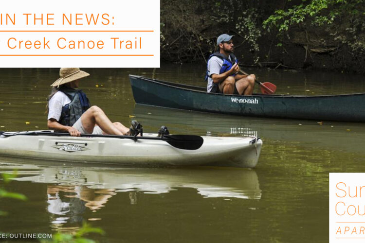 In the News: Flint Creek Canoe Trail