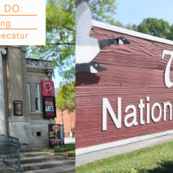 a spring staycation in Decatur